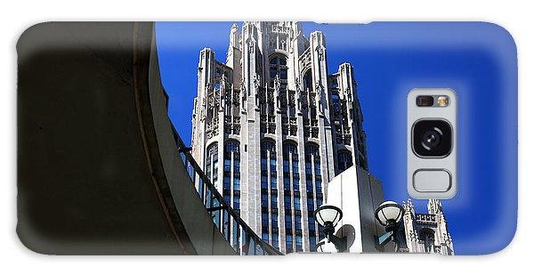 Gothic Tribune Tower Curve Galaxy Case