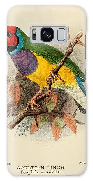 Gouldian Finch Galaxy Case by Dreyer Wildlife Print Collections