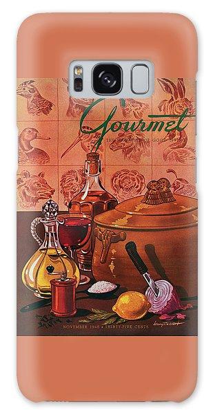 Gourmet Cover Featuring A Casserole Pot Galaxy Case