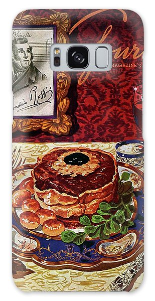 Gourmet Cover Featuring A Plate Of Tournedos Galaxy Case