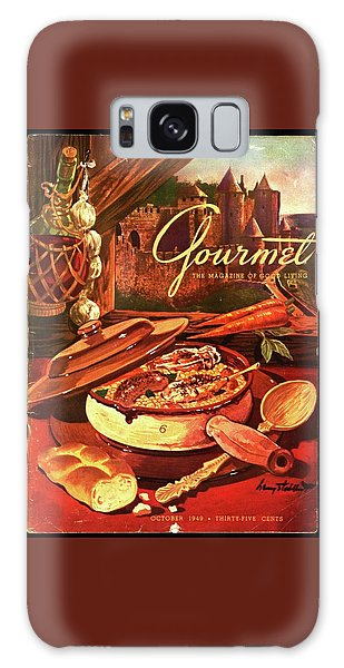 Gourmet Cover Featuring A Pot Of Stew Galaxy Case
