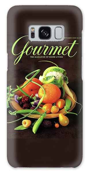Gourmet Cover Featuring A Variety Of Fruit Galaxy Case by Romulo Yanes