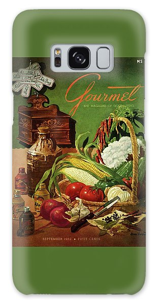 Gourmet Cover Featuring A Variety Of Vegetables Galaxy S8 Case