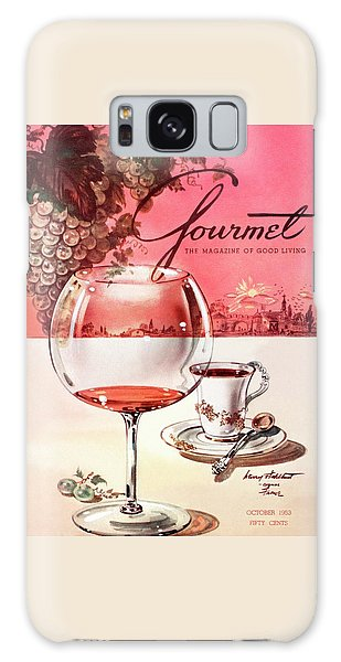 Gourmet Cover Illustration Of A Baccarat Balloon Galaxy Case