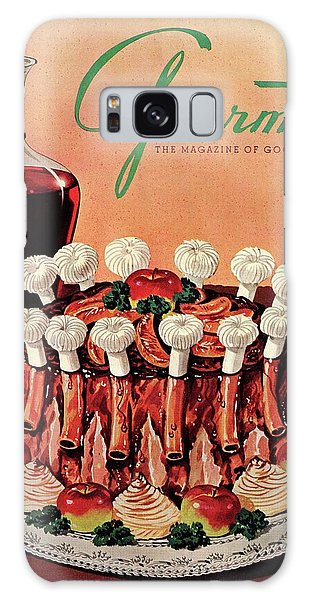 Gourmet Cover Illustration Of A Crown Roast Galaxy Case