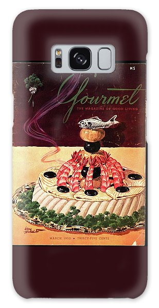 Gourmet Cover Illustration Of A Filet Of Sole Galaxy Case