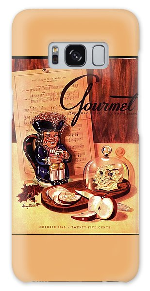 Gourmet Cover Illustration Of A Tray Of Cheese Galaxy Case
