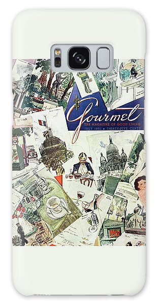 Gourmet Cover Illustration Of Drawings Portraying Galaxy Case
