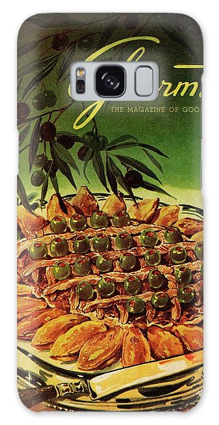 Gourmet Cover Illustration Of Entrecote A La Galaxy Case