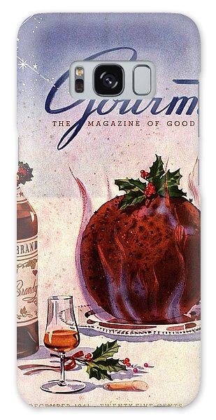 Gourmet Cover Illustration Of Flaming Chocolate Galaxy Case