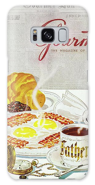 Gourmet Cover Of Breakfast Galaxy Case