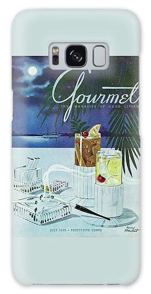 Gourmet Cover Of Cocktails Galaxy Case