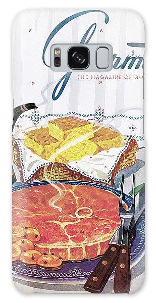 Gourmet Cover Of Ham And Cornbread Galaxy Case