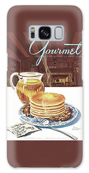 Gourmet Cover Of Pancakes Galaxy Case