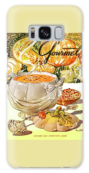 Gourmet Cover Of Pumpkin Soup Galaxy Case