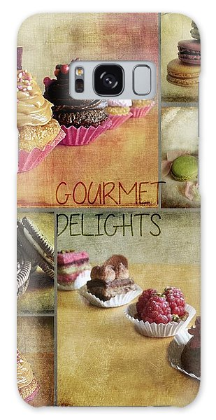 Gourmet Delights - Collage Galaxy Case by Barbara Orenya