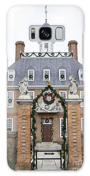 Royal Colony Galaxy Case - Governors Palace With Gate by Teresa Mucha