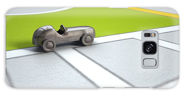 Motor City Galaxy Case - Gps Map With Metal Toy Car by Allan Swart