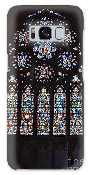 Grace Cathedral Galaxy Case by Dean Ferreira