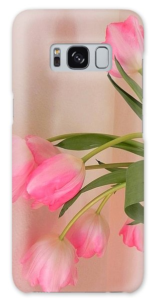 Graceful And Delicate Galaxy Case by Peggy Stokes