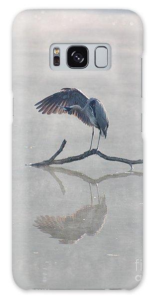 Graceful Heron Galaxy Case