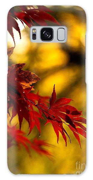 Graceful Leaves Galaxy Case