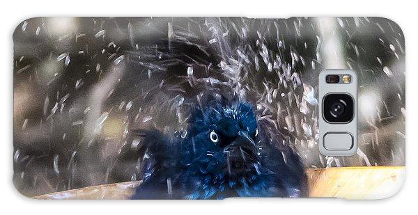Grackle Bath Galaxy Case