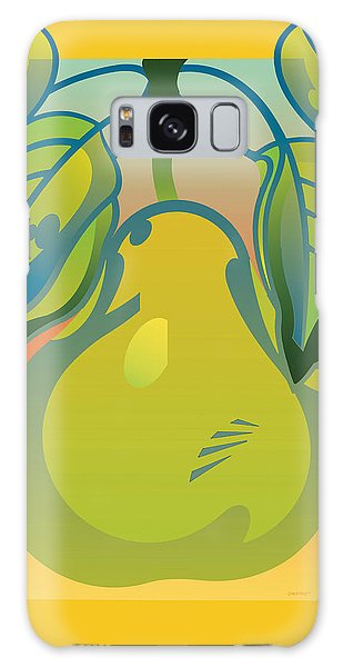 Gradient Pear Galaxy Case