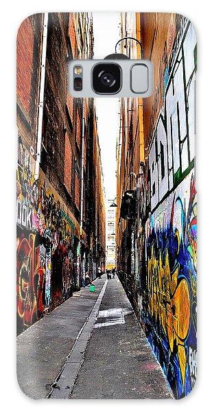 Graffiti Alley - Melbourne - Australia Galaxy Case