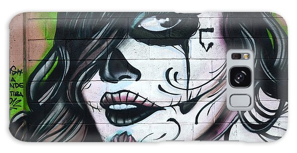 Graffiti Art Curitiba Brazil 21 Galaxy Case by Bob Christopher