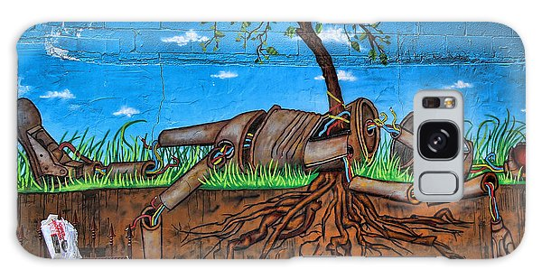 Graffiti Art Iv Galaxy Case by Chuck Kuhn
