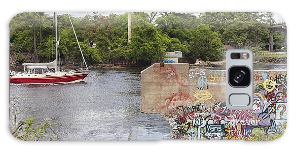 Graffiti Bridge Image Art Galaxy Case