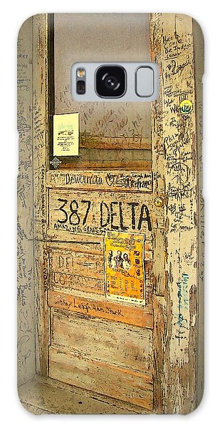Graffiti Door - Ground Zero Blues Club Ms Delta Galaxy Case