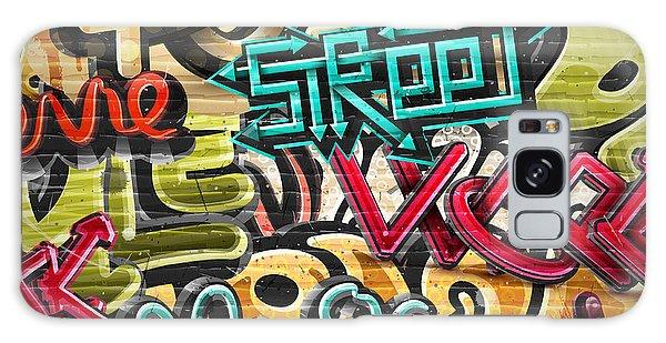 Bricks Galaxy Case - Graffiti Grunge Texture. Eps 10 by Lonely