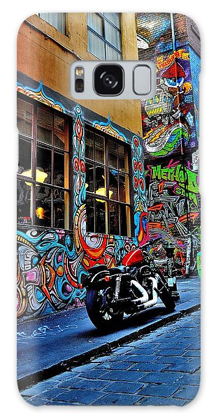 Graffiti Harley Shoes - Melbourne - Australia Galaxy Case