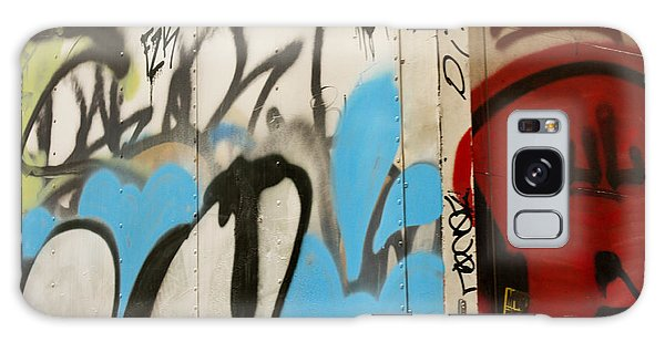 Galaxy Case featuring the photograph Graffiti Writing Nyc #2 by Ann Murphy