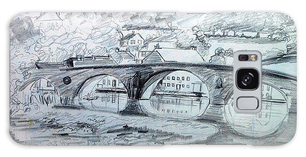 Graignamanagh Bridge River Barrow  Kilkenny Ireland  Galaxy Case by Trudi Doyle