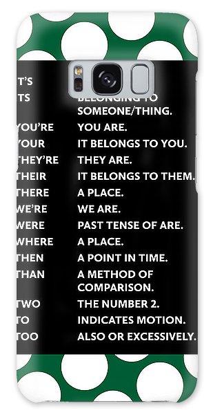 Grammar Rules Galaxy Case