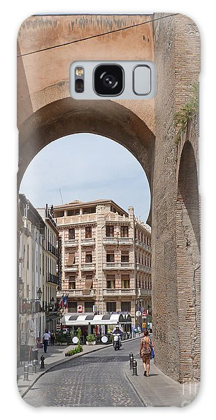 Granada Old City Gateway Galaxy Case by Phil Banks