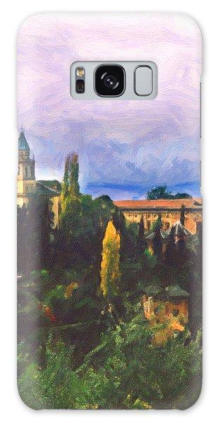 Granada Through The Keyhole Galaxy Case by Spyder Webb