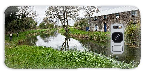 Grand Canal At Miltown Galaxy Case by Ian Middleton