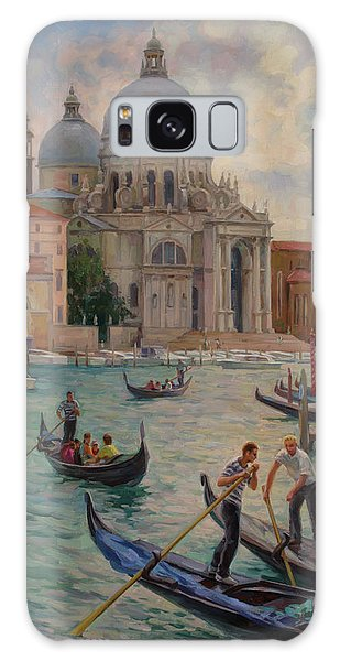 Grand Canal. Venice. Galaxy Case
