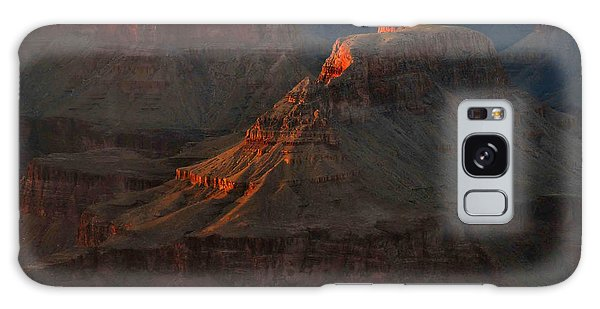 Grand Canyon Alpenglow 3 Galaxy Case by Stephen  Vecchiotti