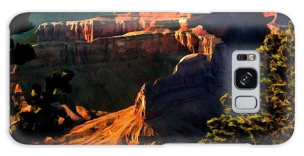 Grand Canyon At Sunset Galaxy Case