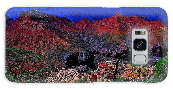 Grand Canyon Beauty Exposed Galaxy Case