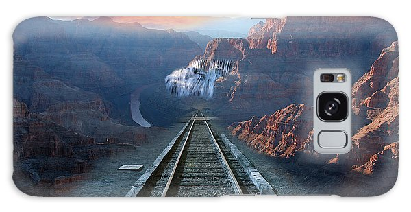 Grand Canyon Collage Galaxy Case