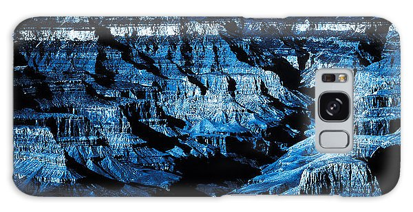 Grand Canyon In Blue Galaxy Case