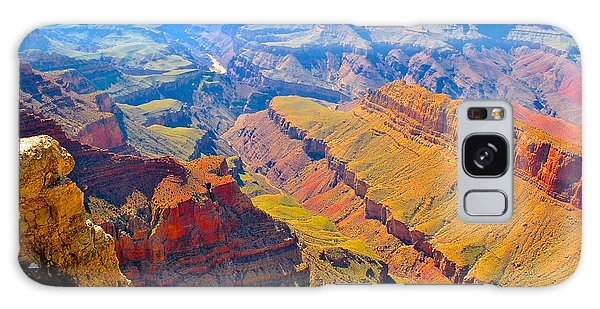 Grand Canyon In Vivid Color Galaxy Case