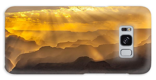 Grand Canyon Lightshow Galaxy Case