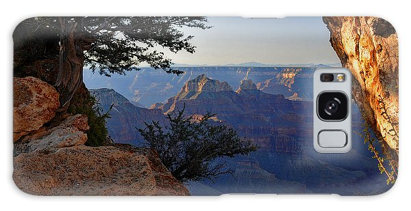 Grand Canyon National Park At Angels Point Trail Galaxy Case